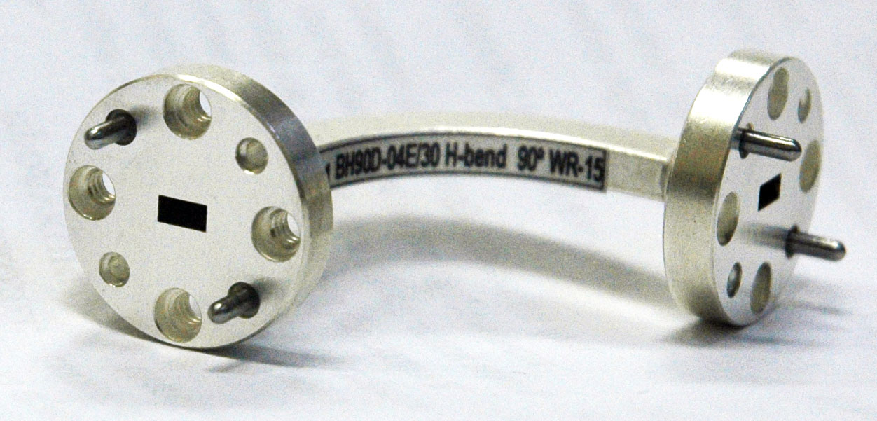 Waveguide H-plane bend